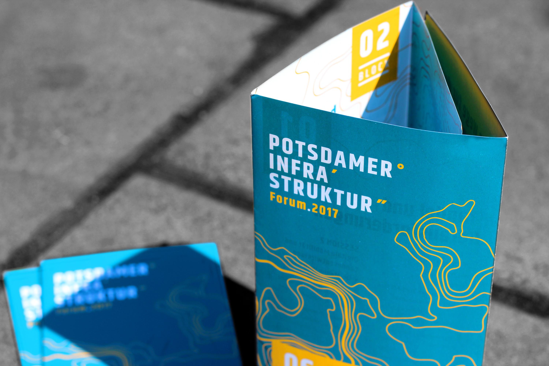 Programmflyer fuer das Potsdamer Infrastruktur Forum 2017