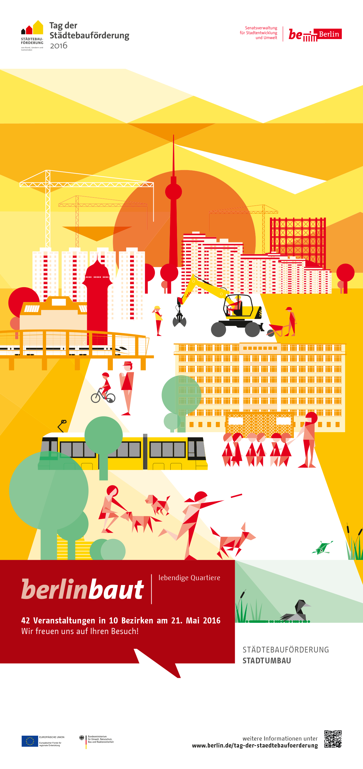 Plakat Stadtumbau