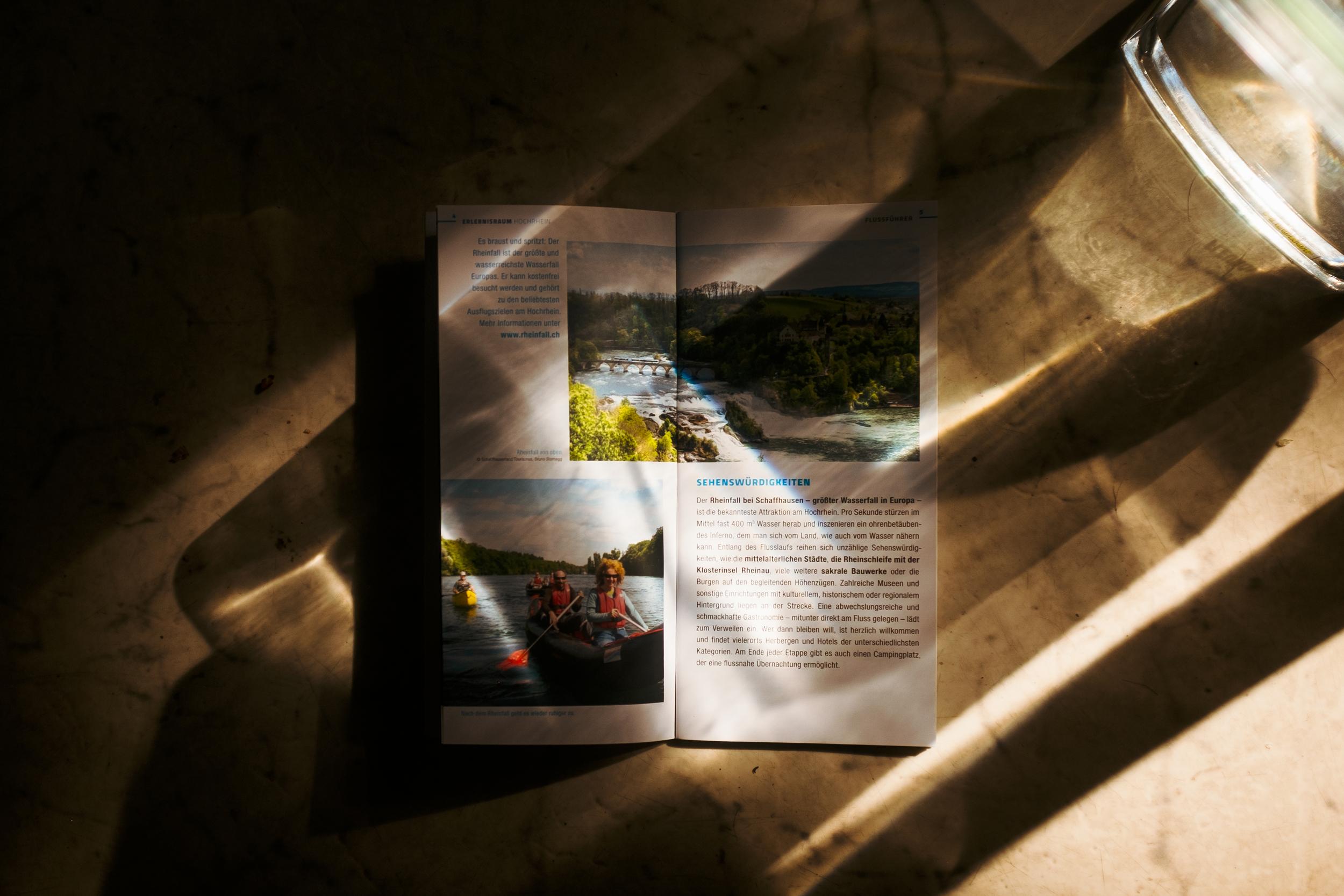 printed broshure