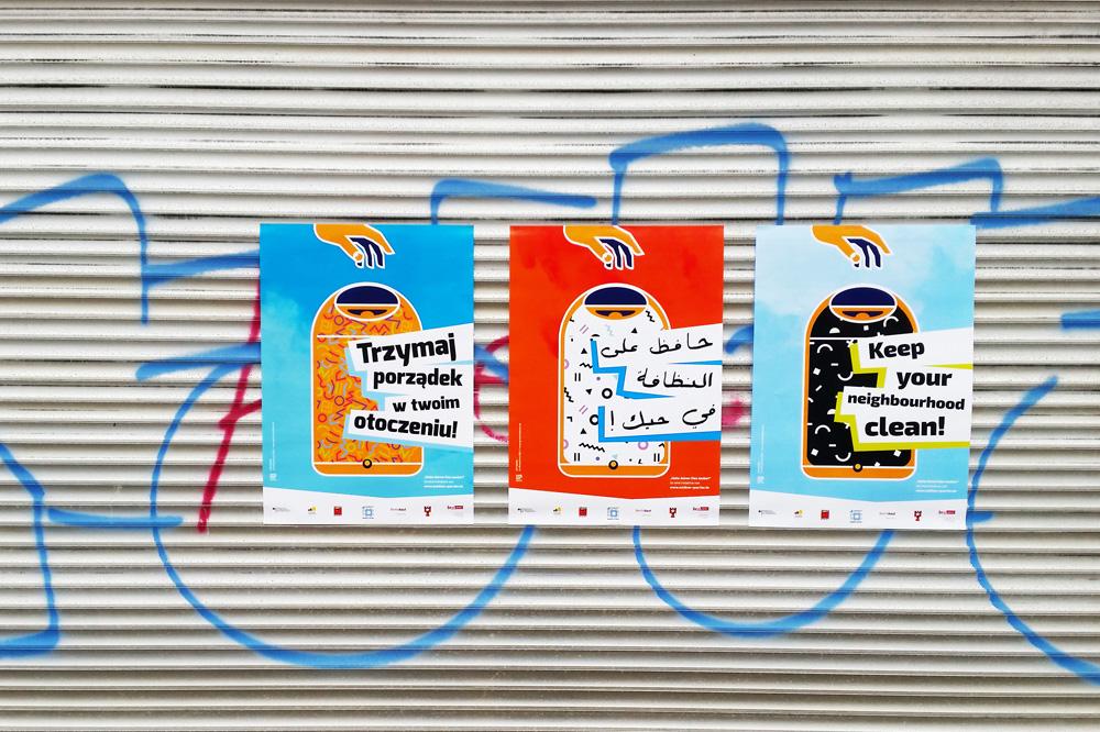 Kiez-Plakat