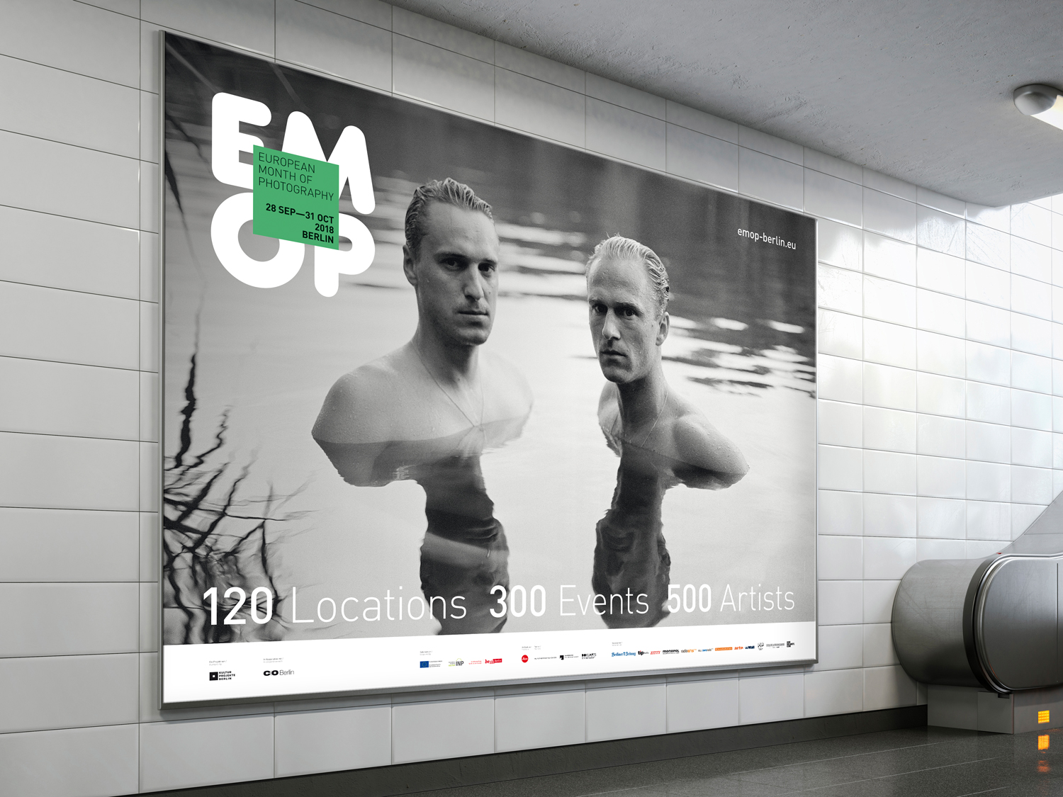photo of two people on a poster
